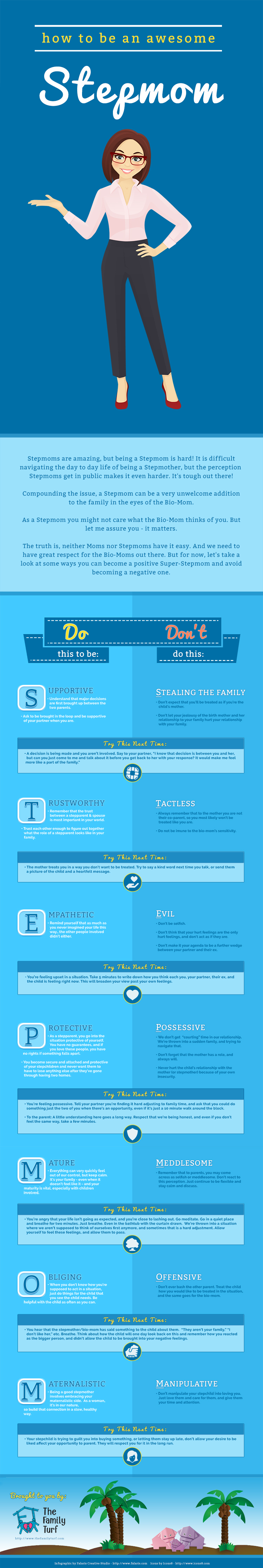 Being A Stepmom Is Hard Check Out This Awesome Infographic The