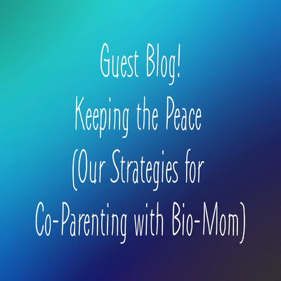 Keeping The Peace (Our Strategies for Co-Parenting with Bio-Mom)